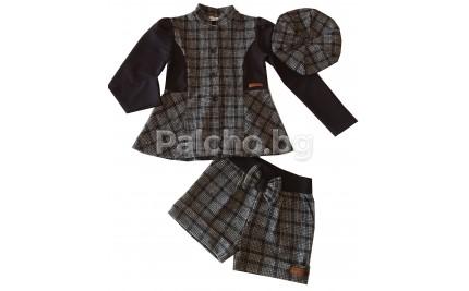 Елегантен комплект с палто 116-146
