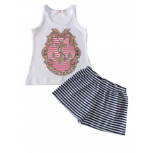 Лятна пижама за момиче Венера 98-170