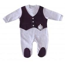Елегантен бебешки гащеризон 62-74
