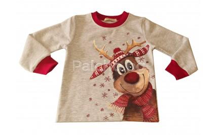 Детска ватирана блуза Рудолф 92-116