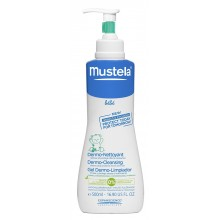 Mustela Дермопочистващ гел за коса и тяло 500мл.