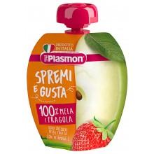 Plasmon Плодова закуска Ябълка с ягода 100гр
