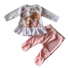 Бебешки комплект за момиче 50-68