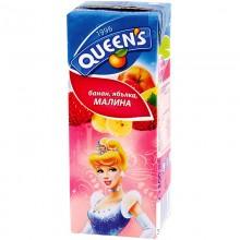 Queens Сок със сламка 200мл.