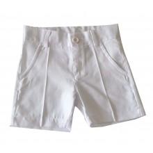 Контраст панталон за момче  бял 74-92