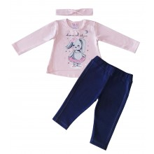 Мариела комплект за бебе Зайче 62-80