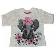 Детска ватирана блуза Слонче 80-110