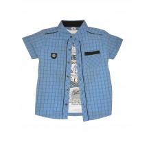 Комплект риза и тениска за момче 110-152