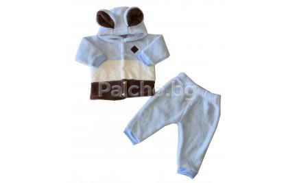 Пухен бебешки комплект за момче 62-80