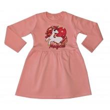 Детска рокля Еднорог 98-128