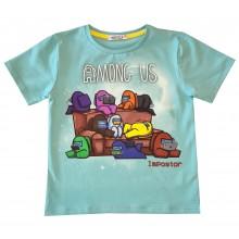 Тениска за момче Among Us