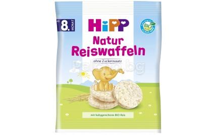 Хип Био Бебешки бисквити оризови натурални 35гр
