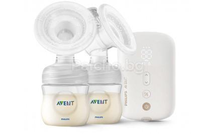 Avent Двойна електрическа помпа за кърма Natural Motion Premium