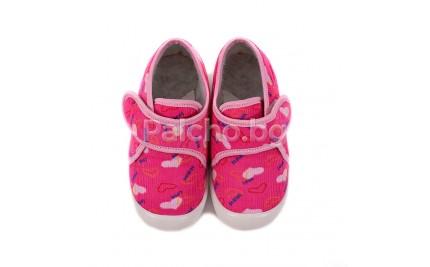 Детски топлинки Беко розови 19-32