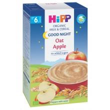 "Хип каша - Hipp Био инстантна каша ""Лека нощ"" Ябълка с овес 250гр."