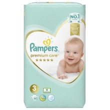 Pampers Premium Care 3 пелени 6-10кг. 60бр.