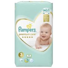 Pampers Premium Care 3 пелени 6-10кг. 60бр.