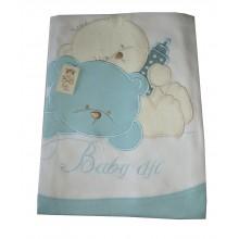 Бебешка пелена Мечо 90/90 см