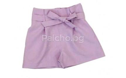Контраст къси панталони за момиче 128-164