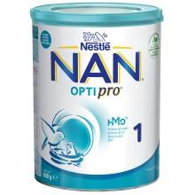 Нестле Нан 1 - Nestle Nan Optipro 1 HM-O Адаптирано мляко за кърмачета 0м+ 800гр.