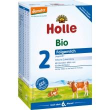 Holle 2 Bio Мляко за бебета 6м+ 600гр.