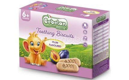 Бебелан Бисквити за гризкане със слива 200гр.