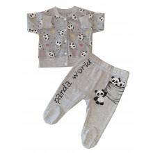 Бебешки комплект панда 56-68