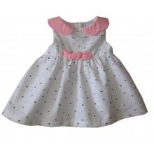 Контраст бебешка рокля 62-80 см