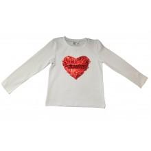 Контраст Блуза Сърце 92-152