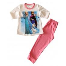 Детска пижама за момиче Фрозен 92-128