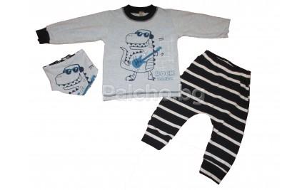 Детски комлект за момче Дино 80-92
