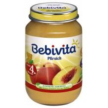 Бебивита пюре - Bebivita Праскови 190гр.