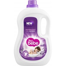 Тео бебе течен прах за бебета - Teo bebe Течен перилен препарат Лавандула 2.2л.