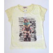 Блуза за момиче Слънчо 104см.