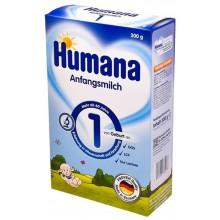 Хумана 1 - Humana 1 Мляко за кърмачета 0-6м. 300гр.