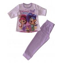Пижама за момиче Искрица и Сияйница 92-128