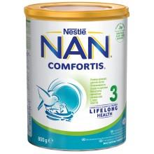 Нестле Нан Комфортис 3 - Nestle Nan 3 Comfortis Мляко за кърмачета 12м+ 800гр.