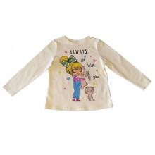 Детска блуза за момиче Зайче 92-104