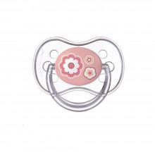 Canpol Залъгалка силиконова със симетрична форма 0-6 м