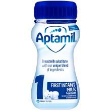 Аптамил 1 - APTAMIL 1 Бебешко мляко за кърмачета 0-6м. 200мл