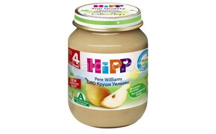 Хип пюре - Hipp Bio Круши Уилямс 125гр.