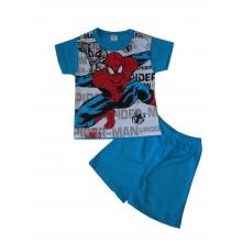 Пижама Спайдърмен с къс ръкав 98-116