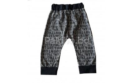 Панталон потурче Букви 80-98