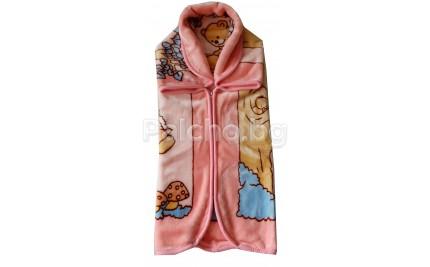 Порт бебе Мече розово