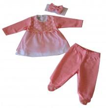 Бебешка рокля Кари 56-68