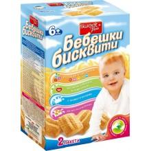 Бебешки бисквити Sweet plus 2x120гр.
