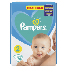 Pampers Maxi pack 2 пелени 4-8кг. 72бр.