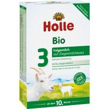Holle 3 Bio Козе Преходно мляко за деца 12м+ 400гр.