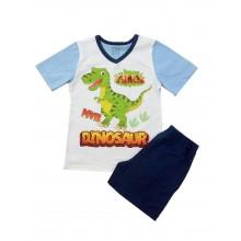 Лятна пижама за момче Динозавър 92-128