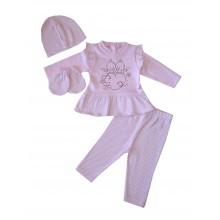 Бебешки комплект Точици 56-68